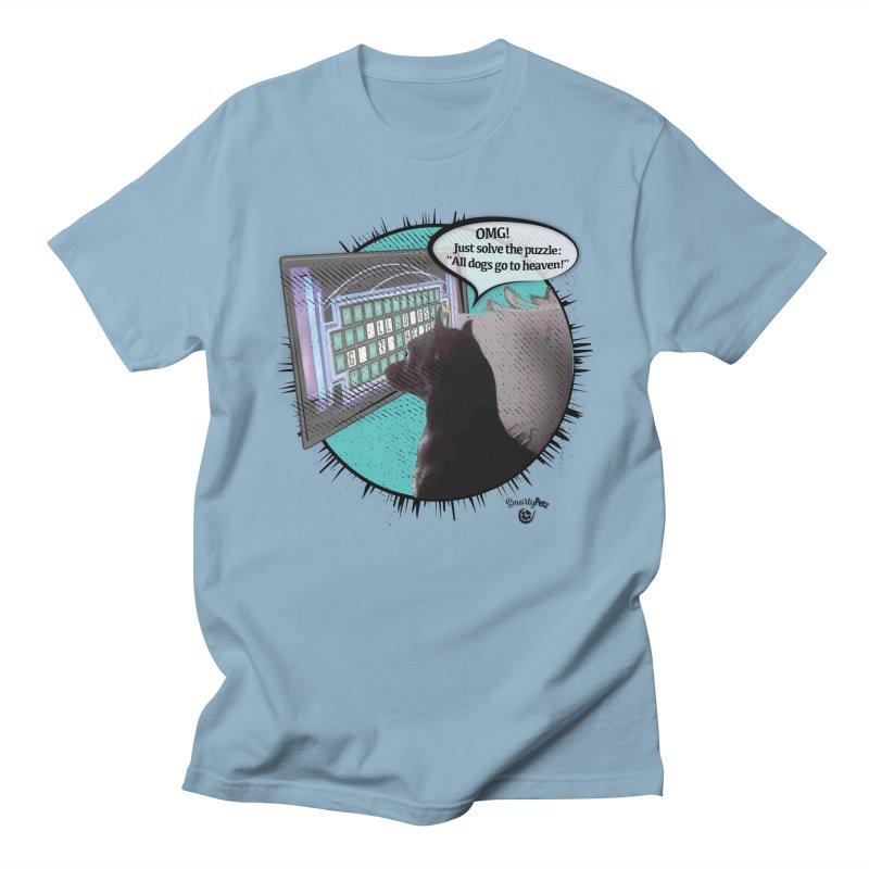 Wheel of Furtune Men's T-Shirt by Smarty Petz's Artist Shop