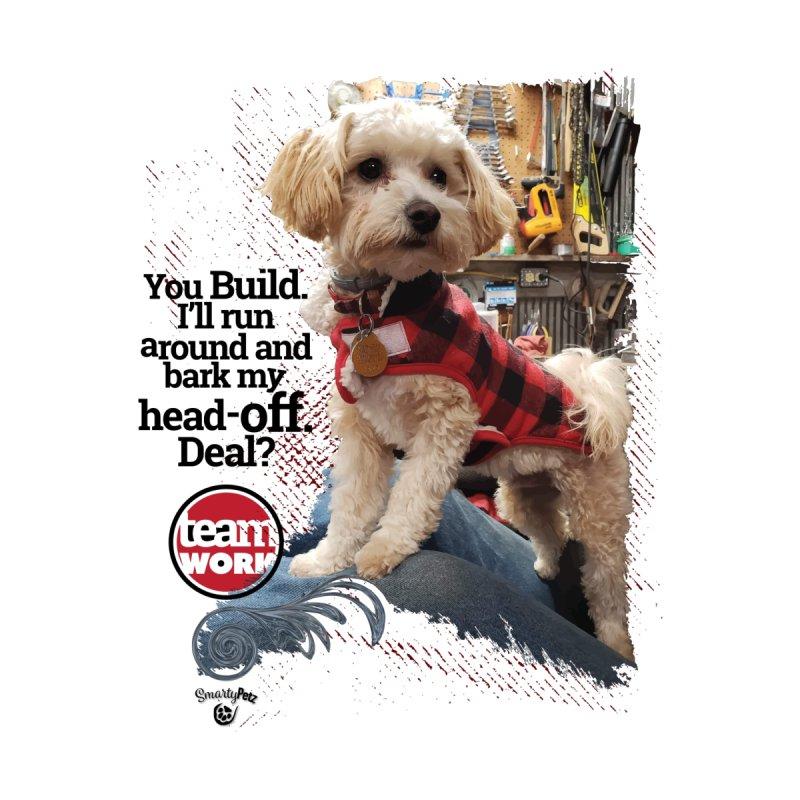 Bark my head off. Men's T-Shirt by Smarty Petz's Artist Shop