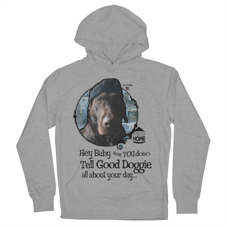 Good Doggie Men's French Terry Pullover Hoody by SmartyPetz's Artist Shop