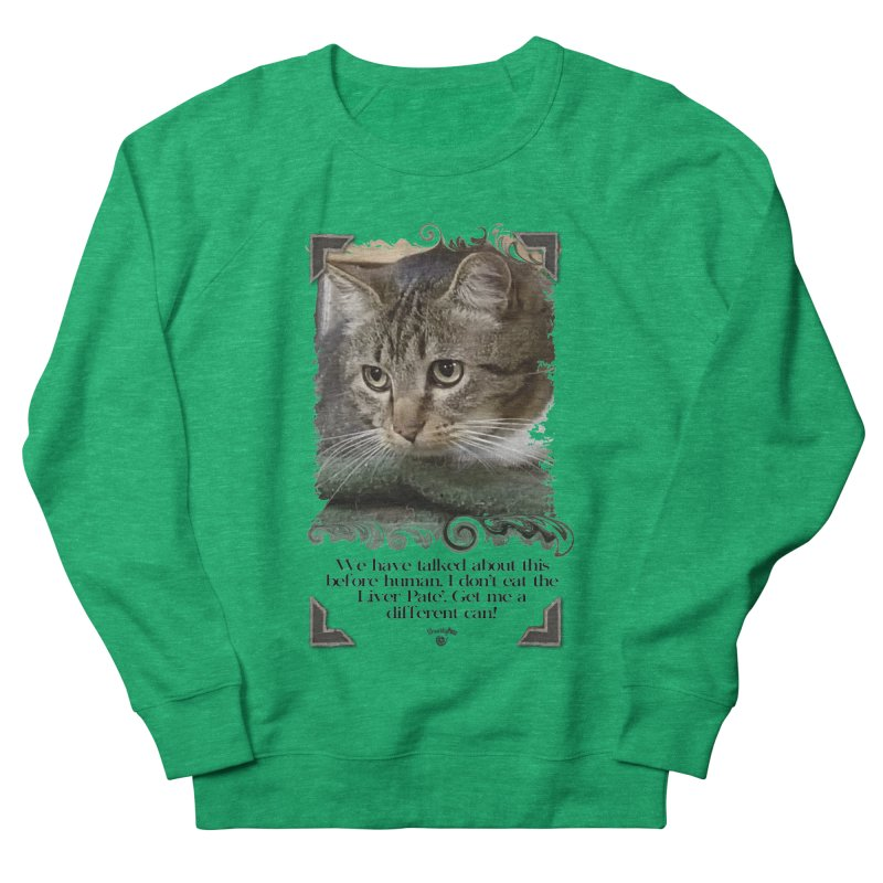 Different can please. Men's French Terry Sweatshirt by SmartyPetz's Artist Shop