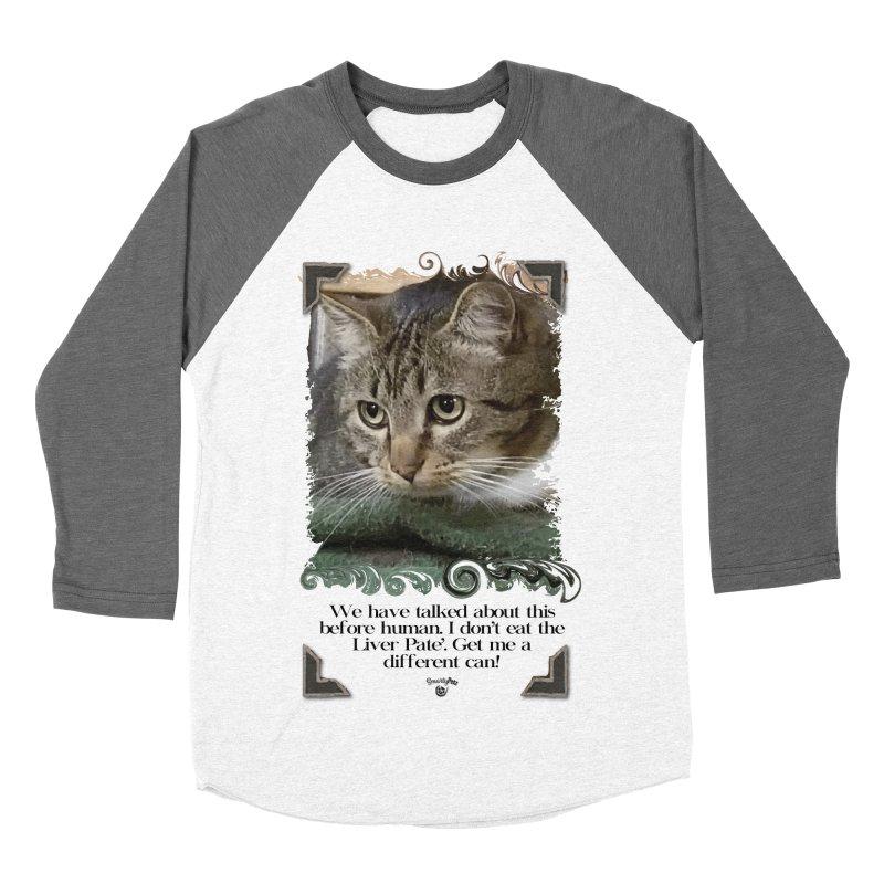 Different can please. Women's Baseball Triblend Longsleeve T-Shirt by SmartyPetz's Artist Shop