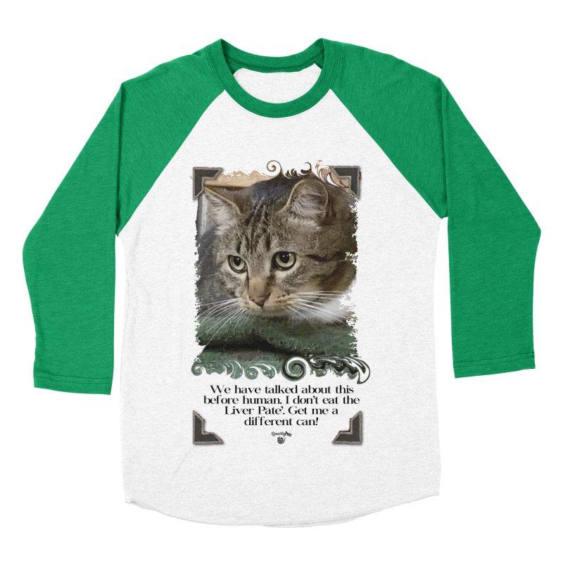 Different can please. Men's Baseball Triblend Longsleeve T-Shirt by SmartyPetz's Artist Shop