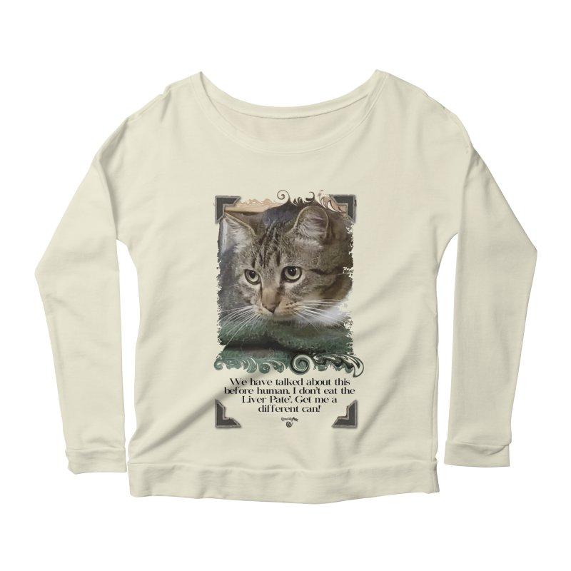 Different can please. Women's Scoop Neck Longsleeve T-Shirt by SmartyPetz's Artist Shop