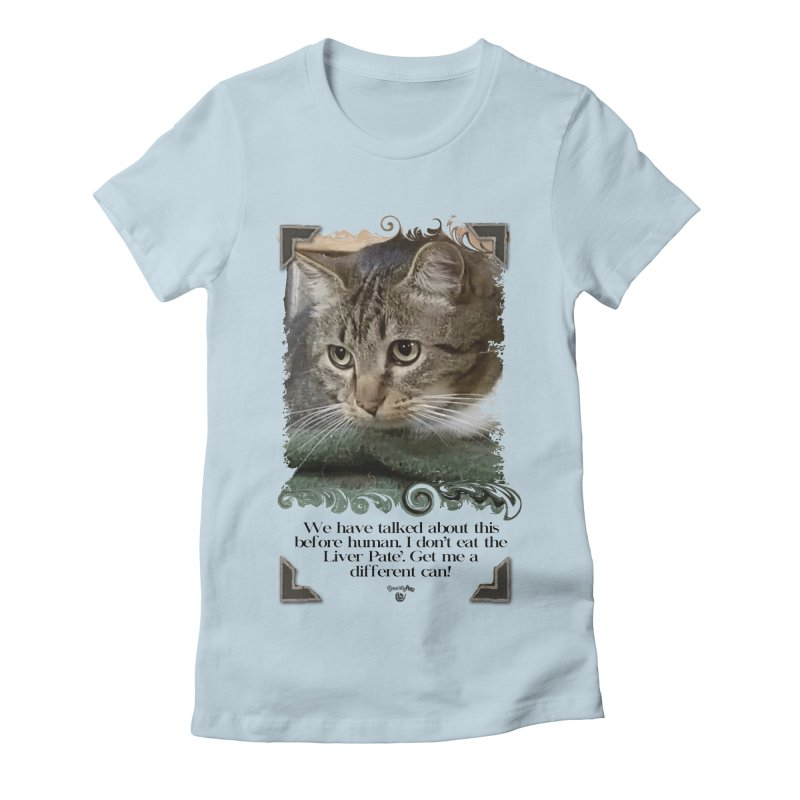 Different can please. Women's Fitted T-Shirt by SmartyPetz's Artist Shop