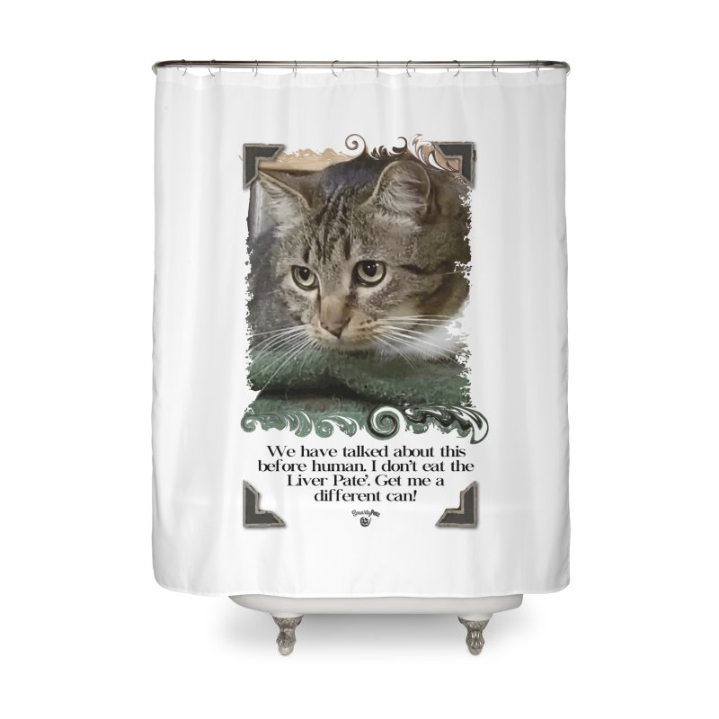 Different can please. Home Shower Curtain by SmartyPetz's Artist Shop