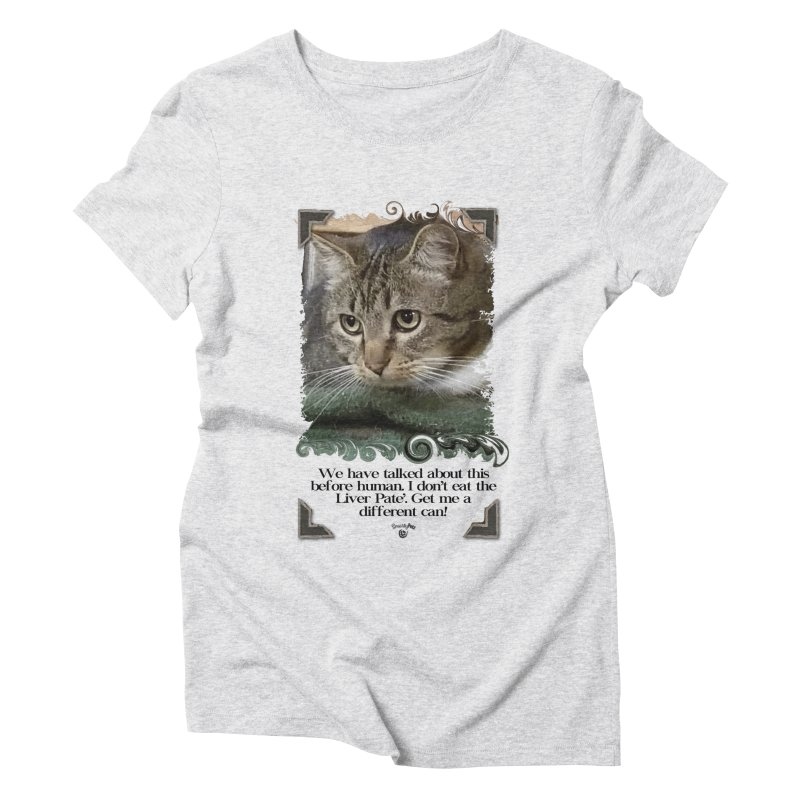 Different can please. Women's Triblend T-Shirt by Smarty Petz's Artist Shop