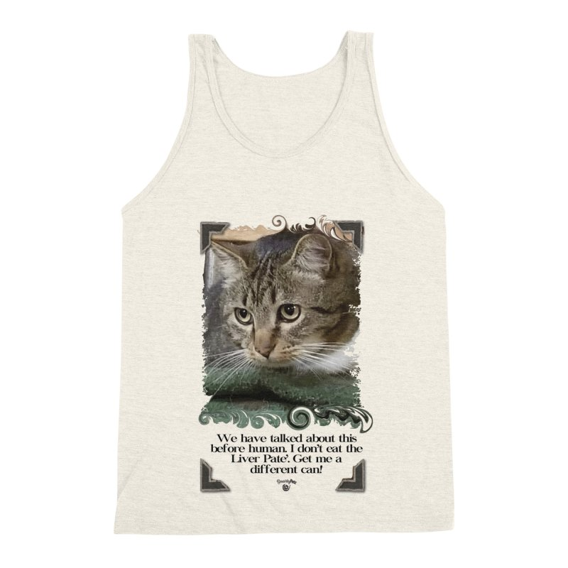 Different can please. Men's Triblend Tank by Smarty Petz's Artist Shop
