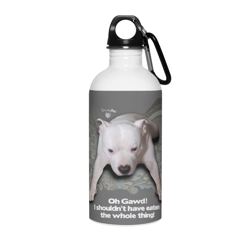 I shouldn't have... Accessories Water Bottle by SmartyPetz's Artist Shop