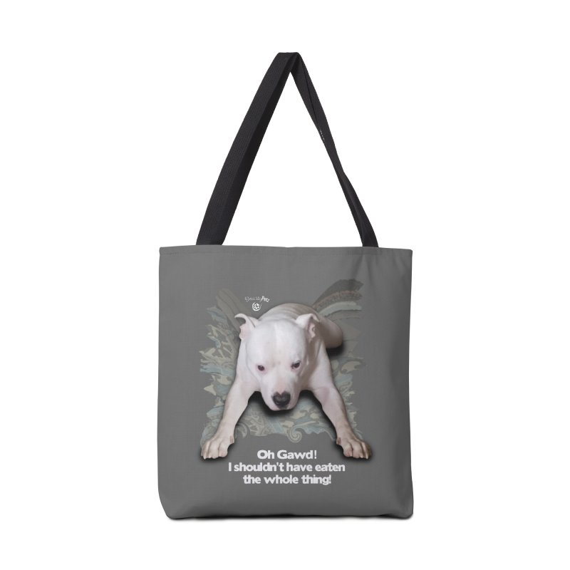 I shouldn't have... Accessories Bag by SmartyPetz's Artist Shop