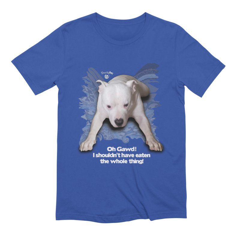 I shouldn't have... Men's Extra Soft T-Shirt by SmartyPetz's Artist Shop