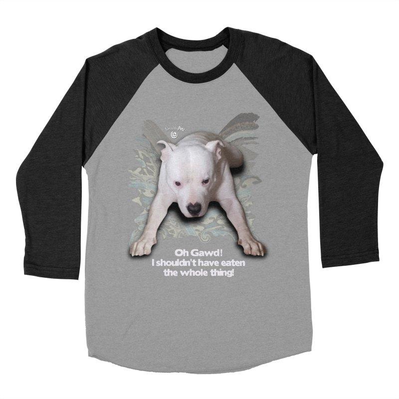 I shouldn't have... Men's Baseball Triblend Longsleeve T-Shirt by SmartyPetz's Artist Shop