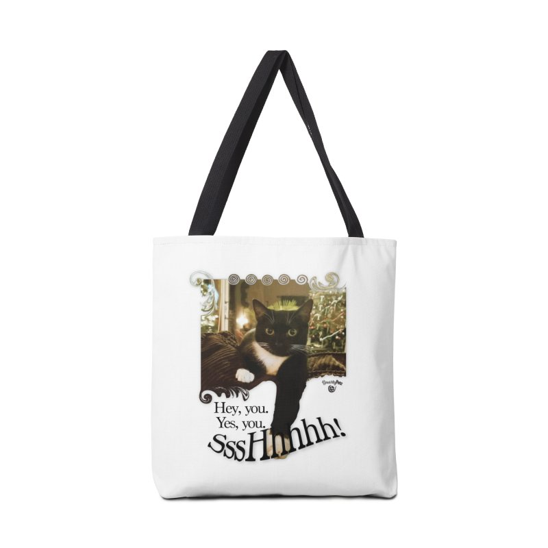 SssHhhhh! Accessories Bag by SmartyPetz's Artist Shop