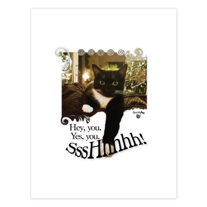 SssHhhhh! Home Fine Art Print by SmartyPetz's Artist Shop
