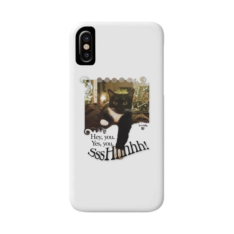 SssHhhhh! Accessories Phone Case by SmartyPetz's Artist Shop
