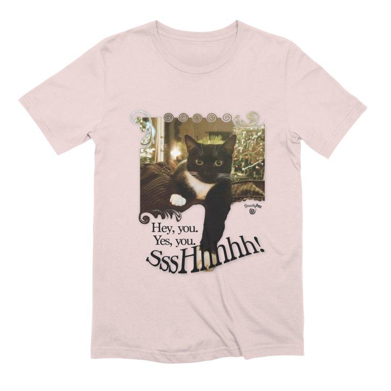 SssHhhhh! Men's Extra Soft T-Shirt by SmartyPetz's Artist Shop