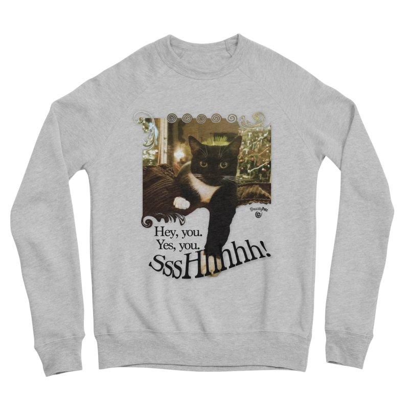 SssHhhhh! Men's Sponge Fleece Sweatshirt by SmartyPetz's Artist Shop