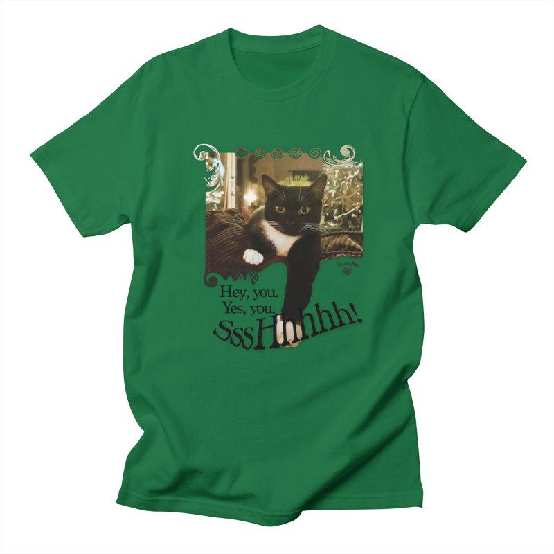 SssHhhhh! Men's T-Shirt by Smarty Petz's Artist Shop