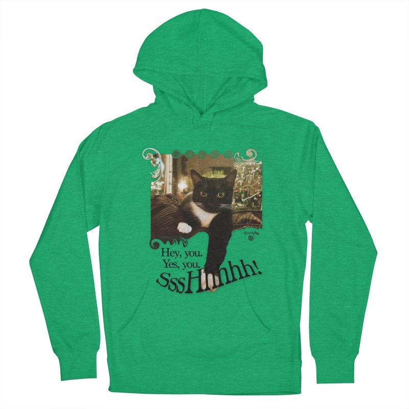SssHhhhh! Men's French Terry Pullover Hoody by SmartyPetz's Artist Shop