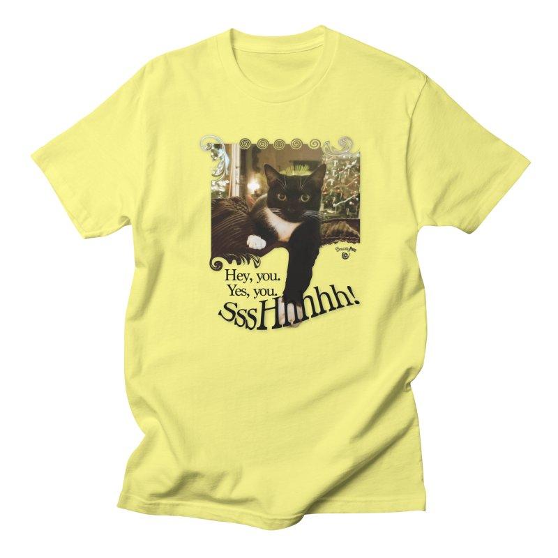 SssHhhhh! Women's Regular Unisex T-Shirt by Smarty Petz's Artist Shop