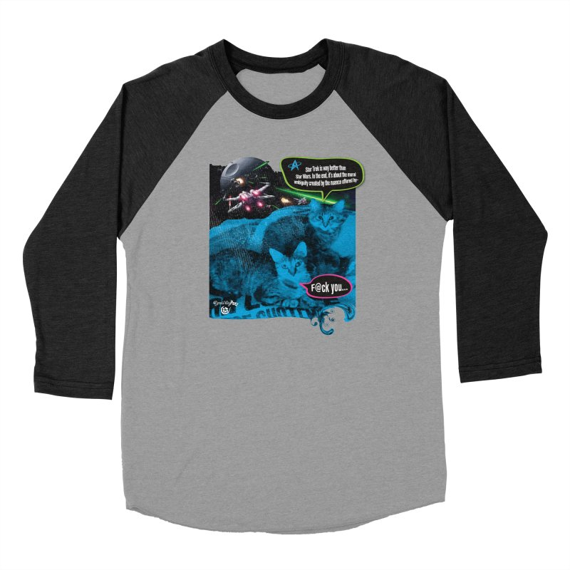 Star Trek -VS- Star Wars Men's Longsleeve T-Shirt by Smarty Petz's Artist Shop