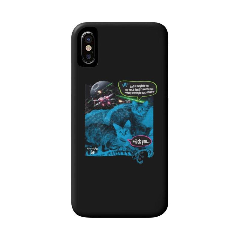 Star Trek -VS- Star Wars Accessories Phone Case by SmartyPetz's Artist Shop