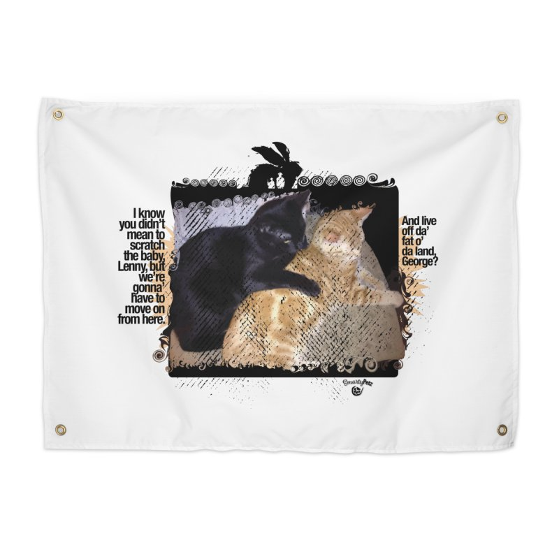 of Mice & Men Home Tapestry by SmartyPetz's Artist Shop