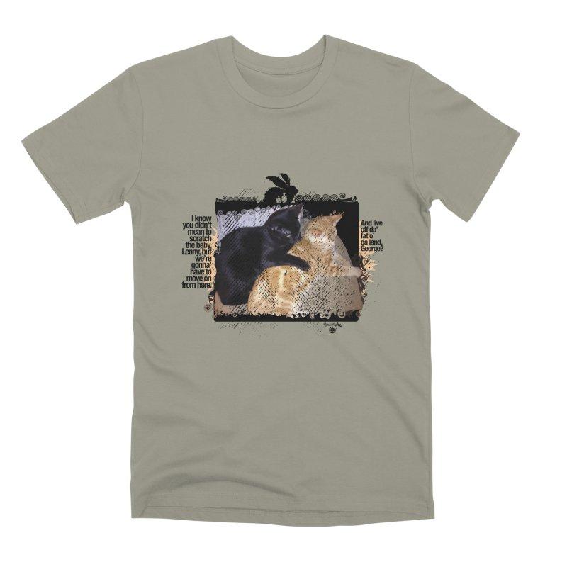 of Mice & Men Men's Premium T-Shirt by Smarty Petz's Artist Shop
