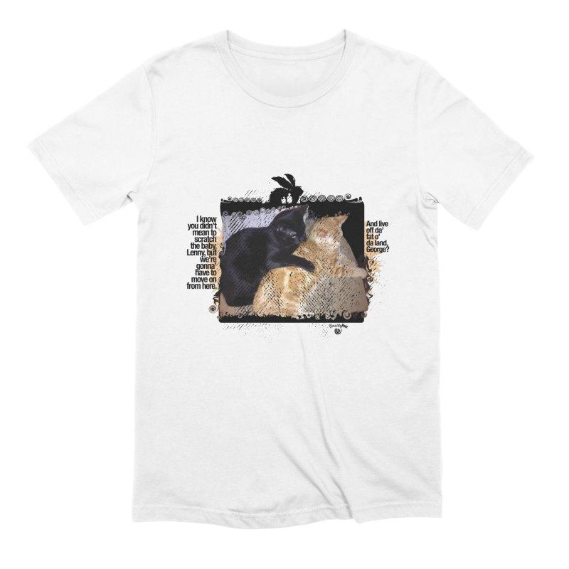 of Mice & Men Men's Extra Soft T-Shirt by SmartyPetz's Artist Shop
