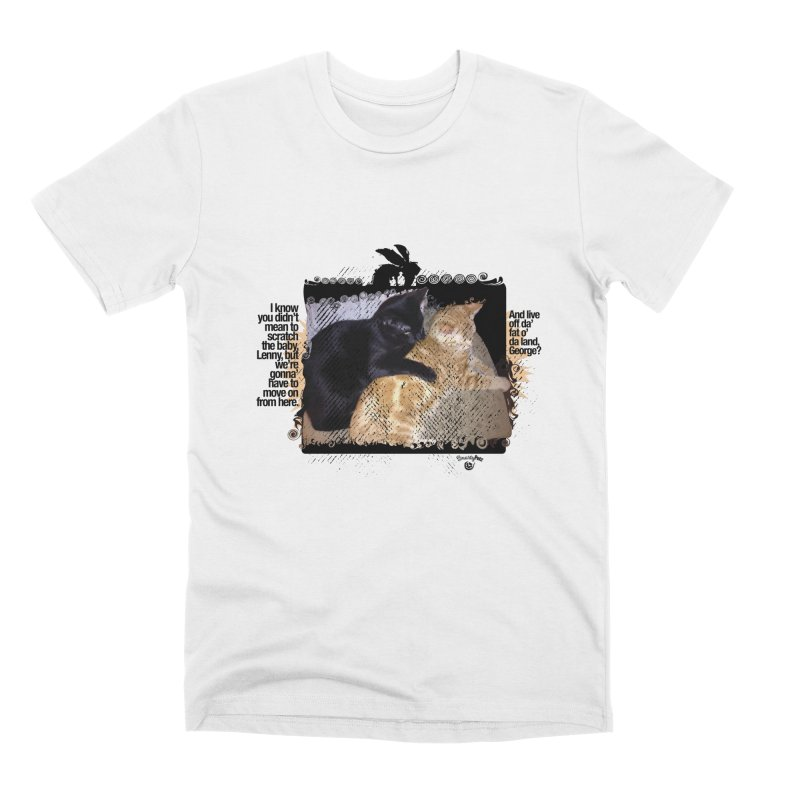 of Mice & Men Men's Premium T-Shirt by Smarty Petz's Artist Shop