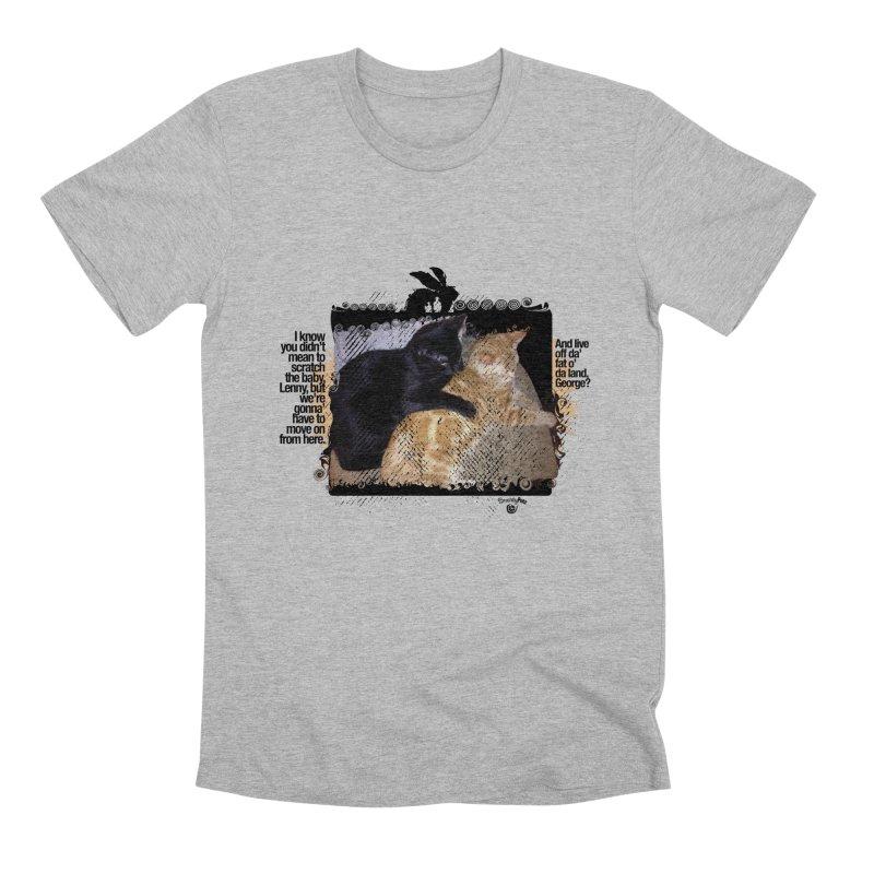 of Mice & Men Men's Premium T-Shirt by SmartyPetz's Artist Shop