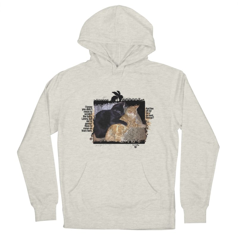 of Mice & Men Women's French Terry Pullover Hoody by SmartyPetz's Artist Shop