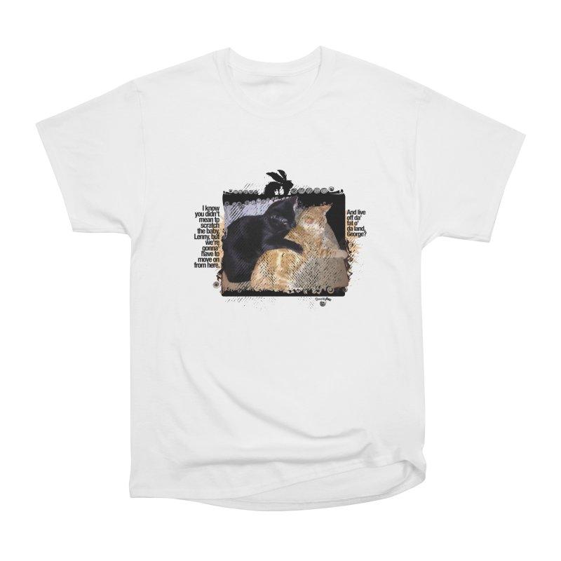 of Mice & Men Men's Heavyweight T-Shirt by SmartyPetz's Artist Shop