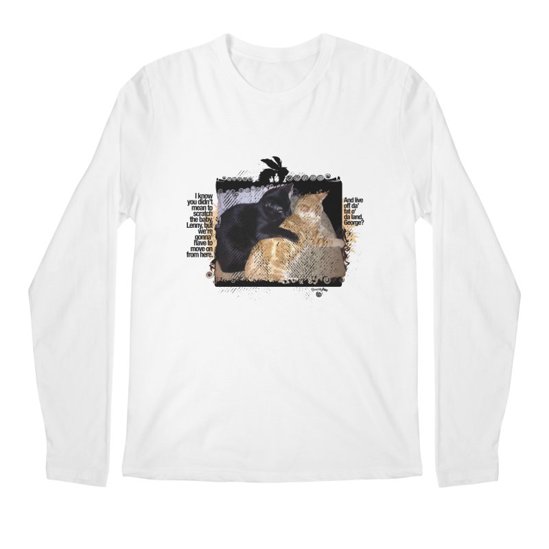 of Mice & Men Men's Regular Longsleeve T-Shirt by SmartyPetz's Artist Shop