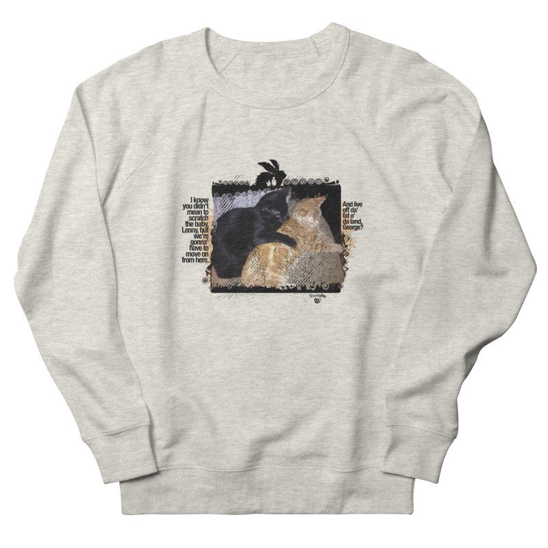 of Mice & Men Men's French Terry Sweatshirt by SmartyPetz's Artist Shop