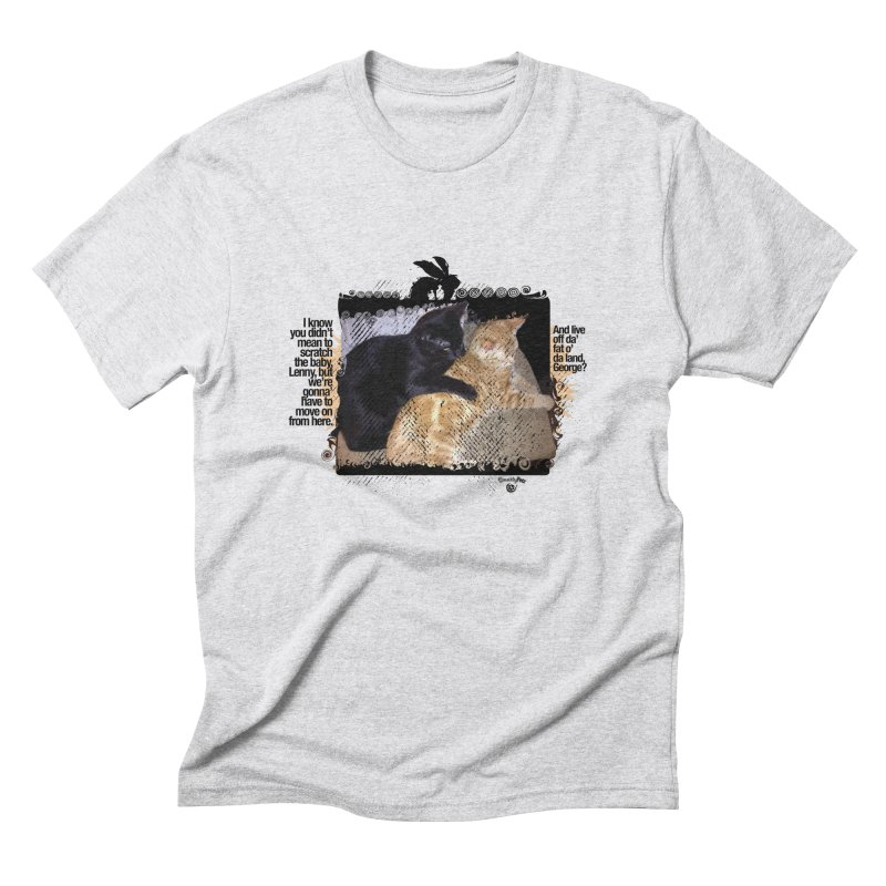 of Mice & Men Men's Triblend T-Shirt by SmartyPetz's Artist Shop