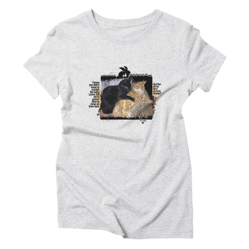 of Mice & Men Women's Triblend T-Shirt by Smarty Petz's Artist Shop