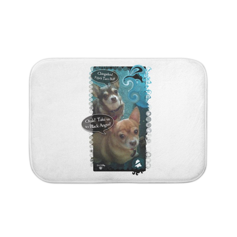 Orale! Home Bath Mat by SmartyPetz's Artist Shop