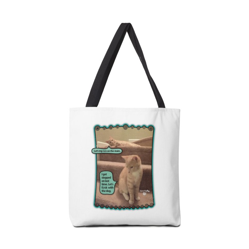 Let's f@ck with the dog. Accessories Bag by SmartyPetz's Artist Shop