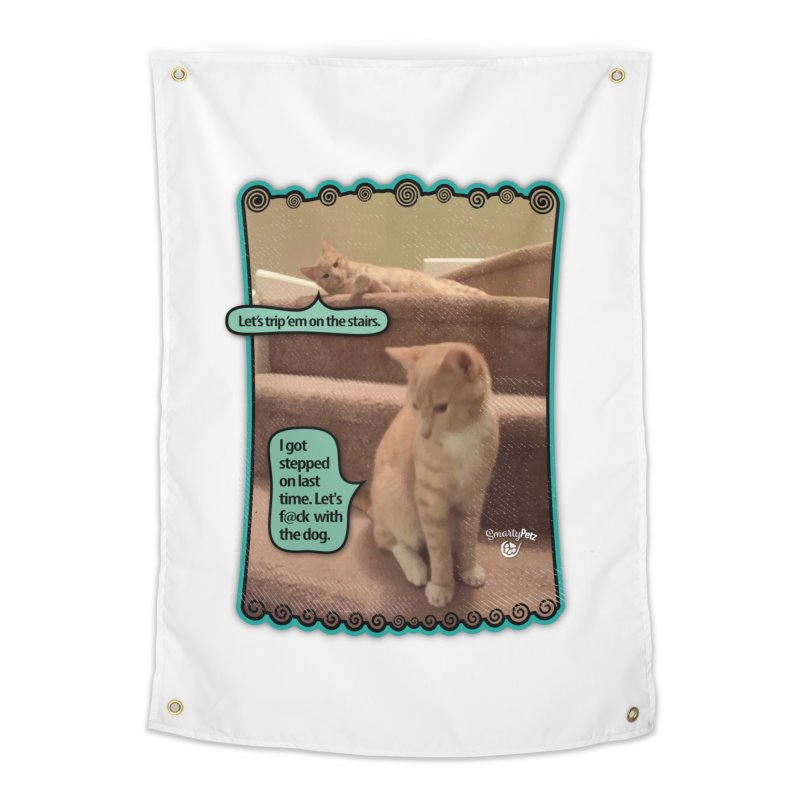 Let's f@ck with the dog. Home Tapestry by SmartyPetz's Artist Shop