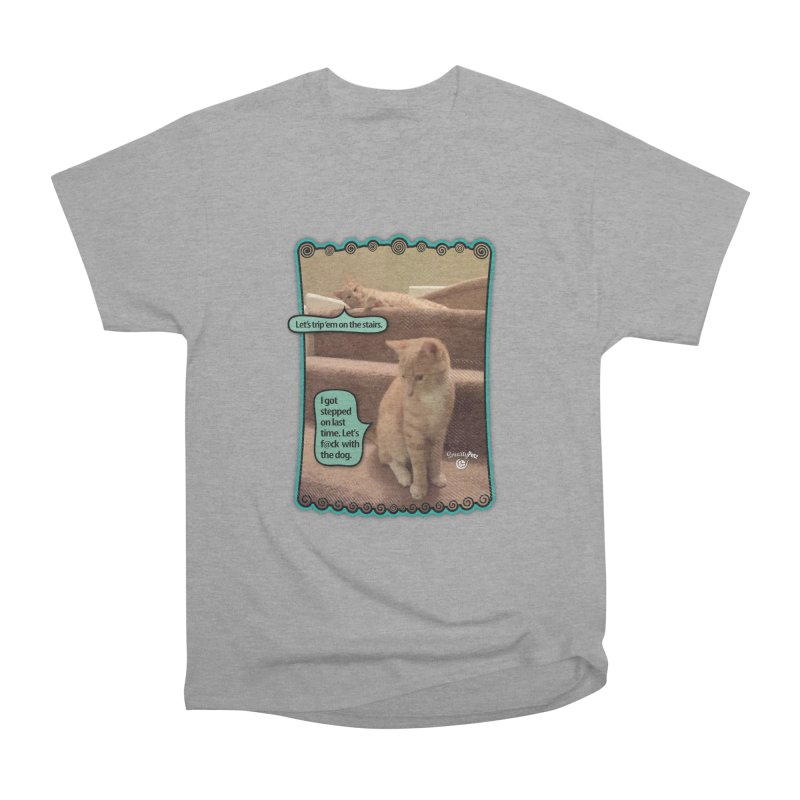 Let's f@ck with the dog. Women's Heavyweight Unisex T-Shirt by SmartyPetz's Artist Shop