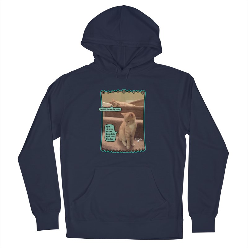 Let's f@ck with the dog. Men's Pullover Hoody by Smarty Petz's Artist Shop