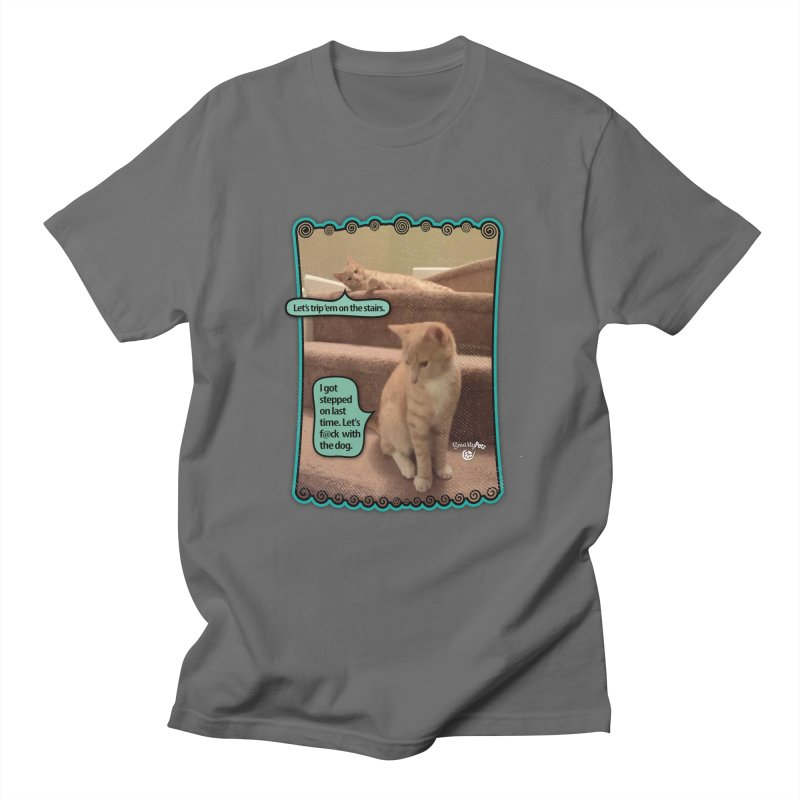 Let's f@ck with the dog. Men's T-Shirt by Smarty Petz's Artist Shop