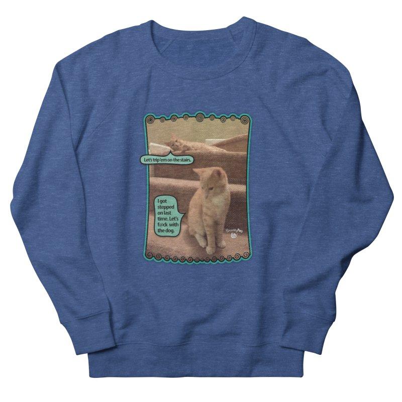 Let's f@ck with the dog. Men's Sweatshirt by Smarty Petz's Artist Shop