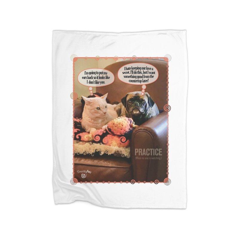 PRACTICE Home Blanket by SmartyPetz's Artist Shop