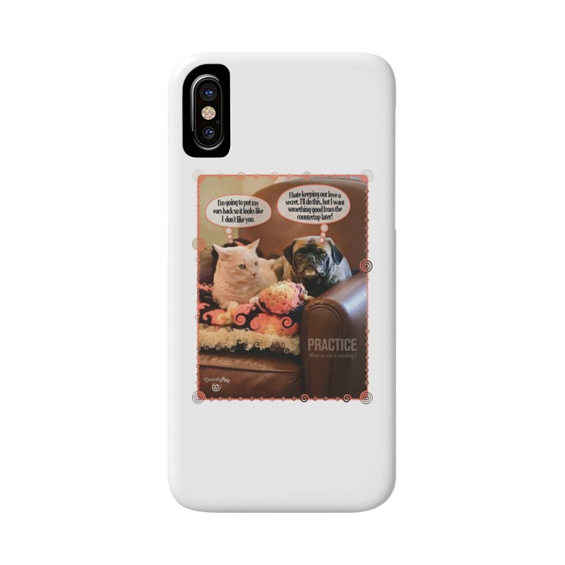 PRACTICE Accessories Phone Case by SmartyPetz's Artist Shop