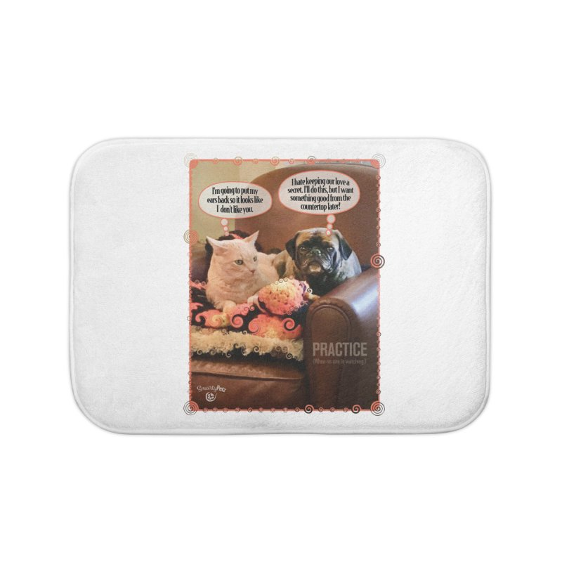 PRACTICE Home Bath Mat by SmartyPetz's Artist Shop