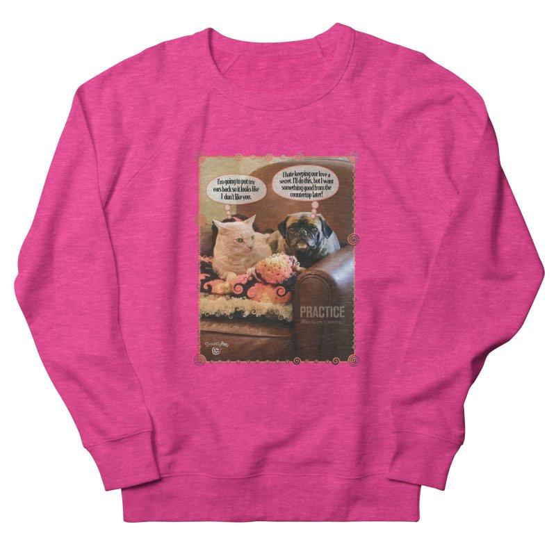 PRACTICE Men's French Terry Sweatshirt by SmartyPetz's Artist Shop