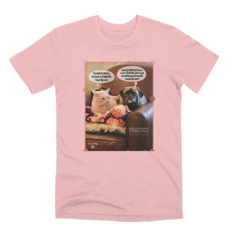 PRACTICE Men's Premium T-Shirt by Smarty Petz's Artist Shop