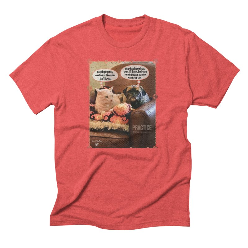 PRACTICE Men's Triblend T-Shirt by Smarty Petz's Artist Shop