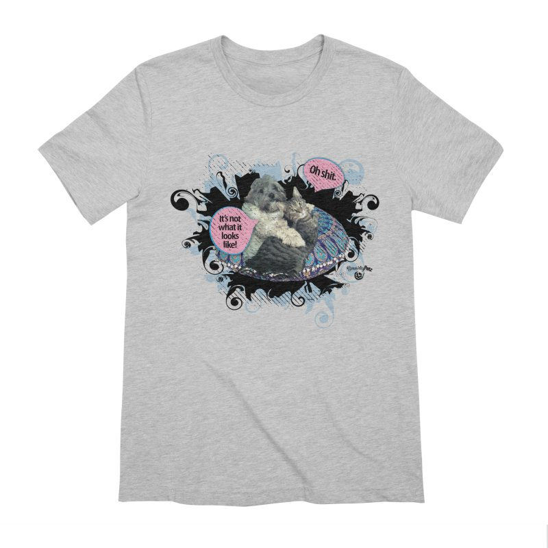 It's not what it looks like. Men's Extra Soft T-Shirt by SmartyPetz's Artist Shop